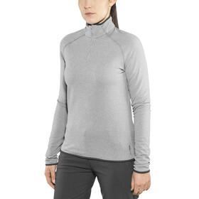 Odlo Carve Warm 1/2 Zip Midlayer Women grey melange